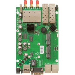 Mikrotik RB953GS-5HnT - Our first product with 5GHz 3x3 MIMO Triple Chain support.