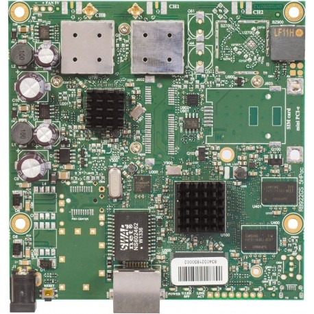 Mikrotik RB911G-5HPacD - is our low-cost small form factor CPE board with 802.11ac support.
