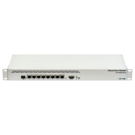 Mikrotik CCR1009-8G-1S - Cloud Core Router for offices and data centers